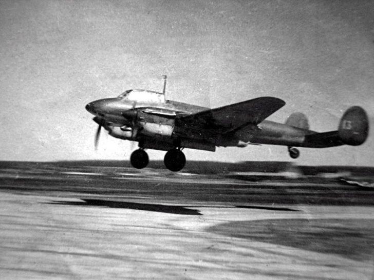 reconnaissance aircraft Pe-2