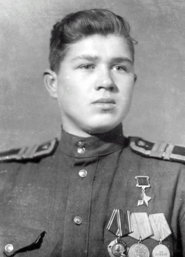 Sergeant Boris Bykov