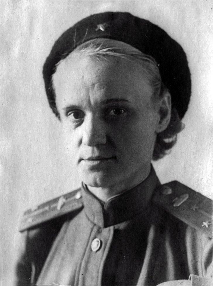 Lieutenant Yevgenia Kostrikova