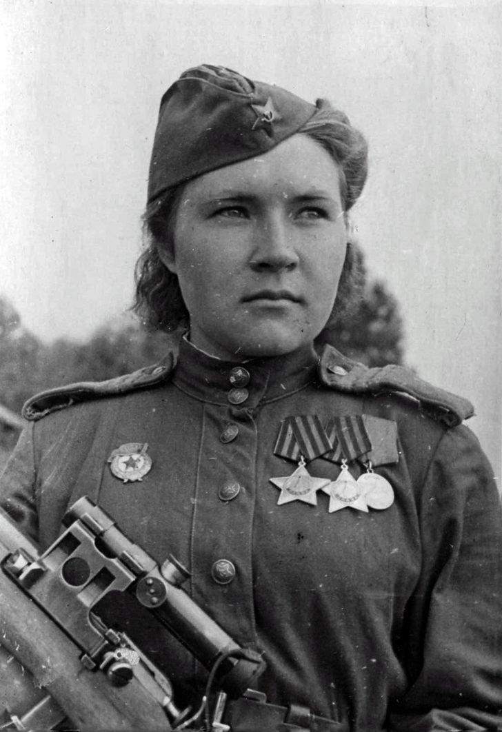 Sergeant Lyubov Makarova
