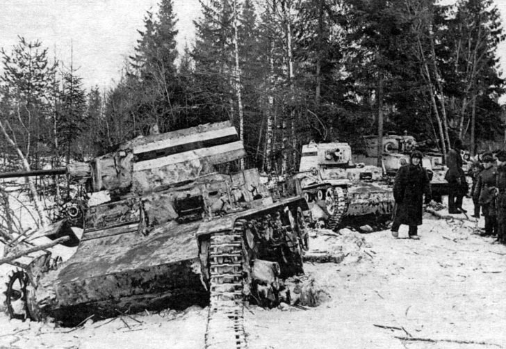 Finnish Vickers tanks