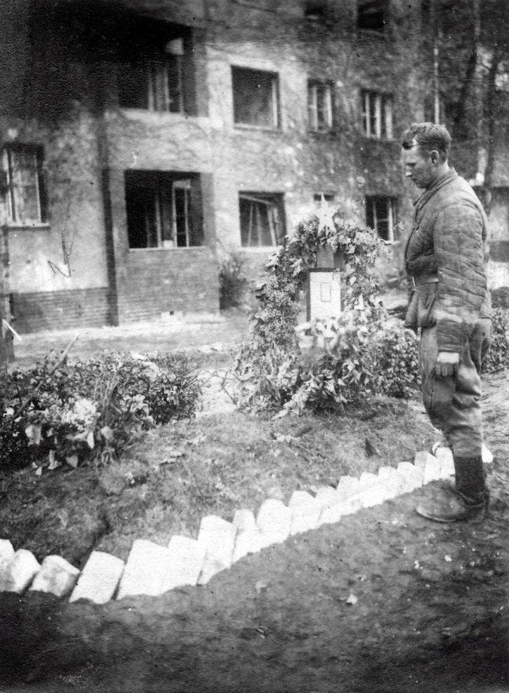Soviet soldier Ivan Kichigin