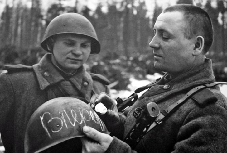 Sergeant M. Kurmaev