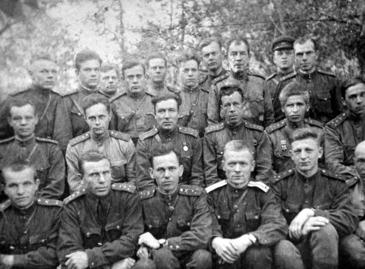 Officers of the 59th Army
