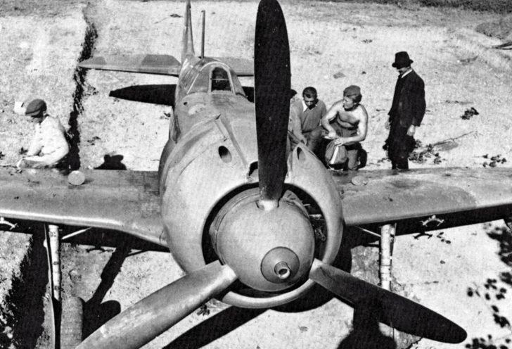 fighter La-5FN