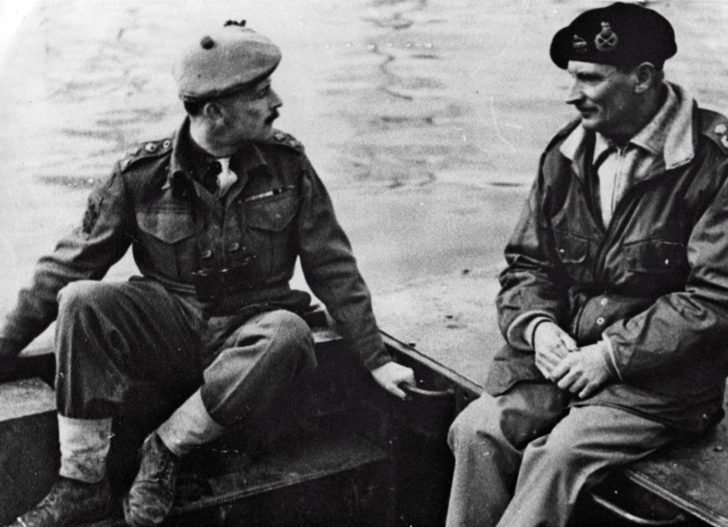 Bernard Montgomery, James Oliver