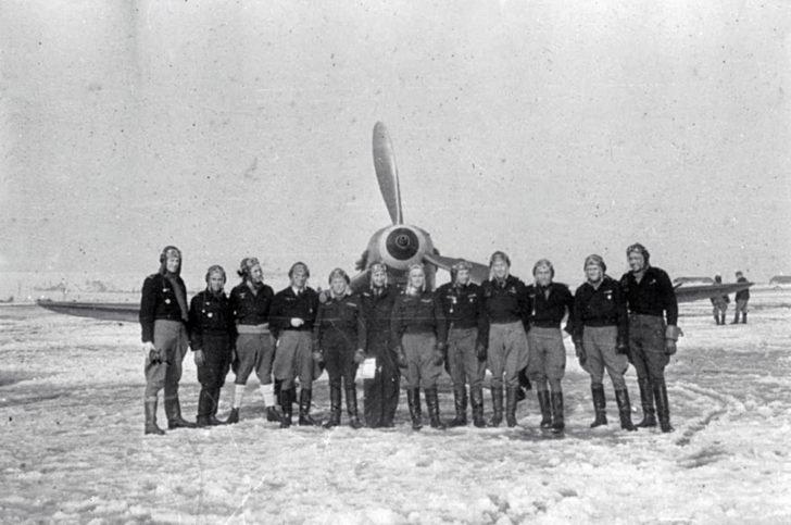 Pilots from the Normandy-Neman