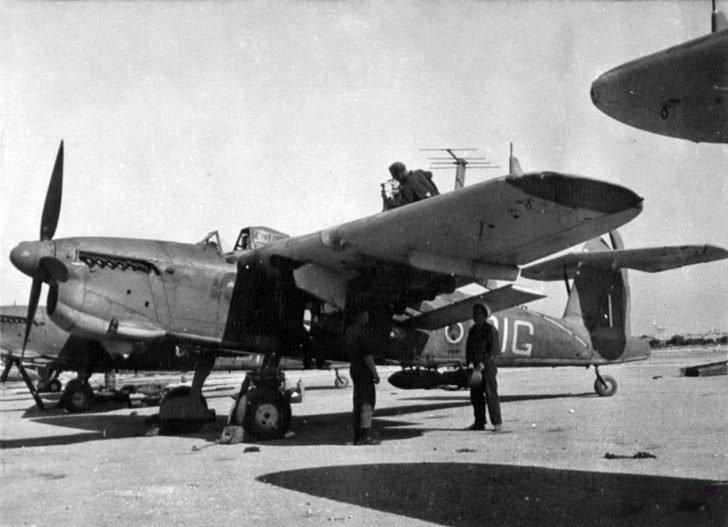 bomber Fairey Barracuda