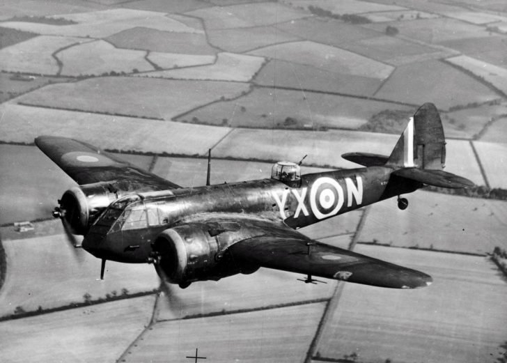 fighter Bristol Blenheim
