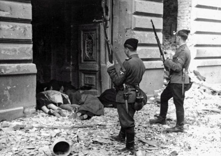Ukrainian SS soldiers