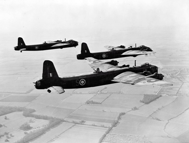 bombers Short Stirling