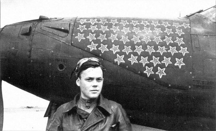 pilot Grigory Rechkalov