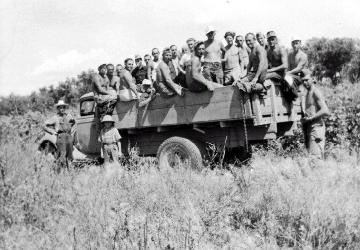 German prisoners of war