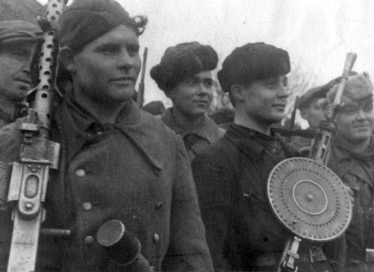 partisan detachment Avenger