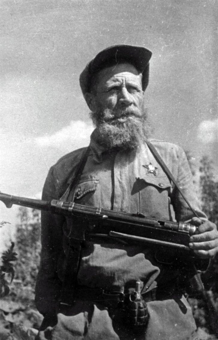 Partisan Ivan Tsyba