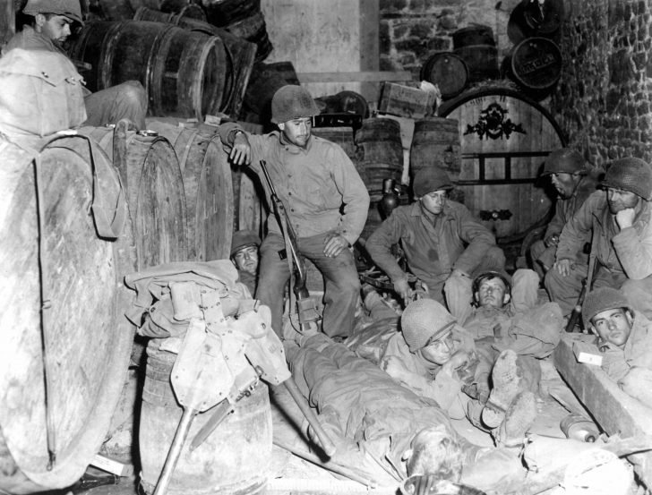 American infantrymen