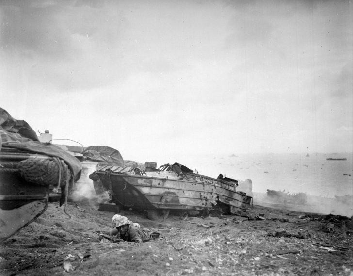 marines in the battle of Iwo Jima