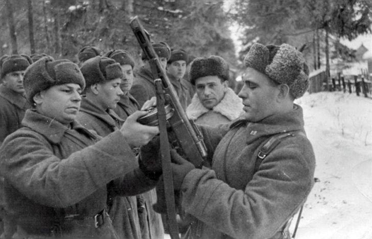 Battalion Commissar G. Polyakov