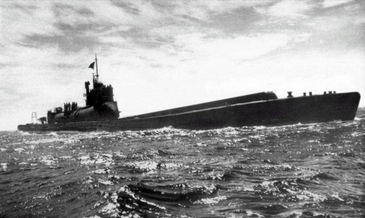 submarine I-400