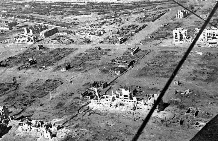 destroyed Stalingrad