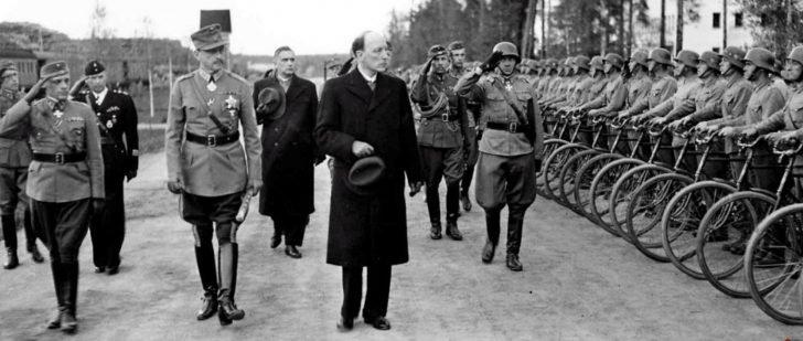 Marshal Mannerheim, President Ryti
