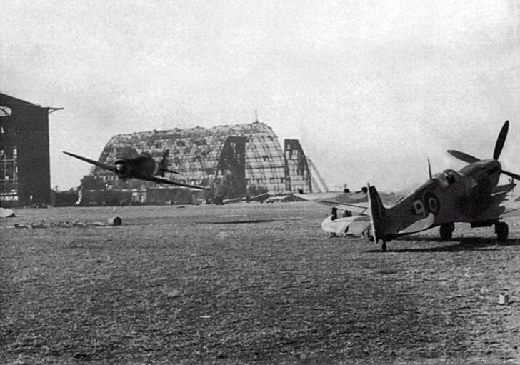 Macchi C.200 Saetta, Spitfire