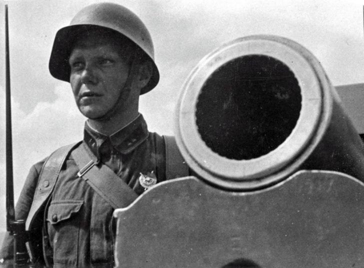 Lieutenant V.A. Malyshev