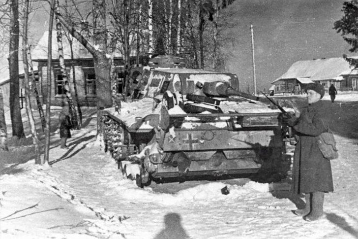 Soviet soldier, Panzer III