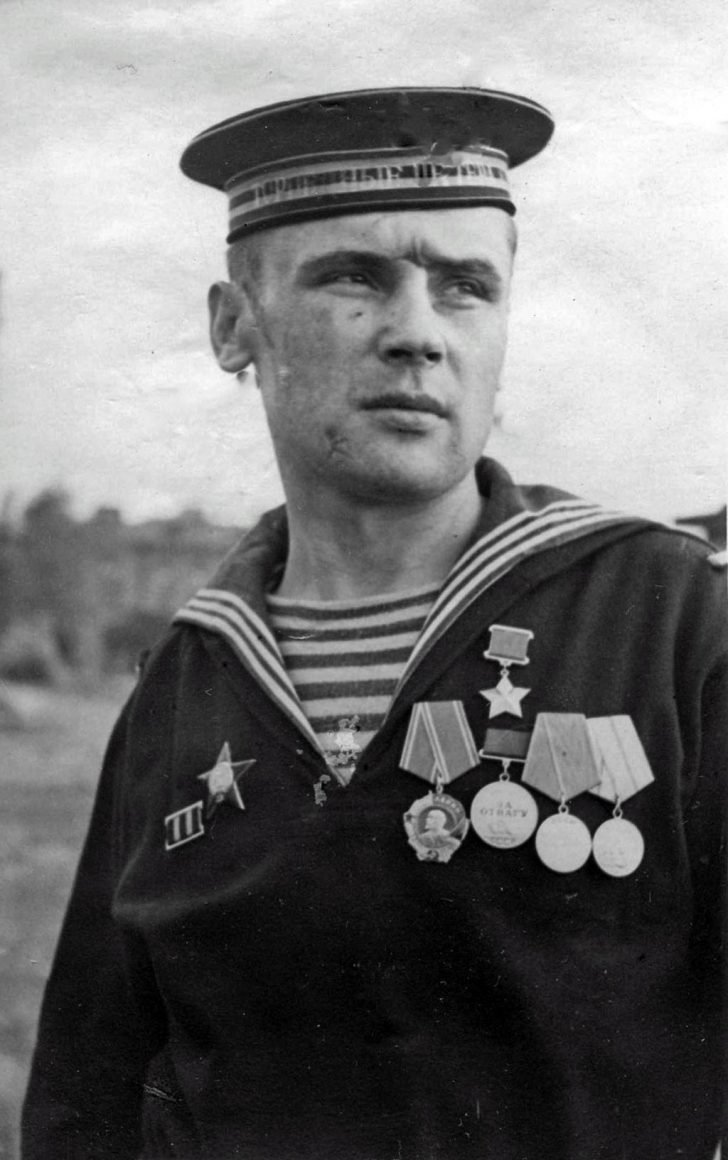 Hero of the Soviet Union Viktor Kuskov