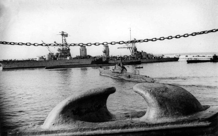 Soviet submarines, cruiser Krasny Kavkaz