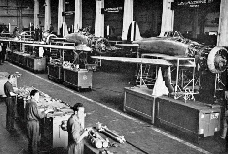 Italian factory Breda