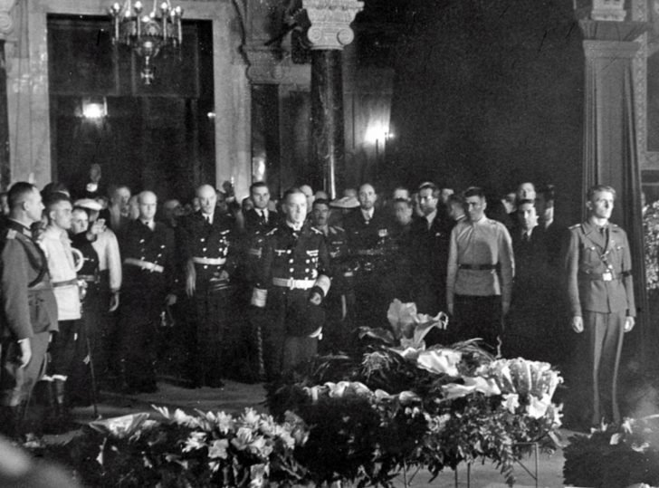 funeral of the Bulgarian Tsar Boris III