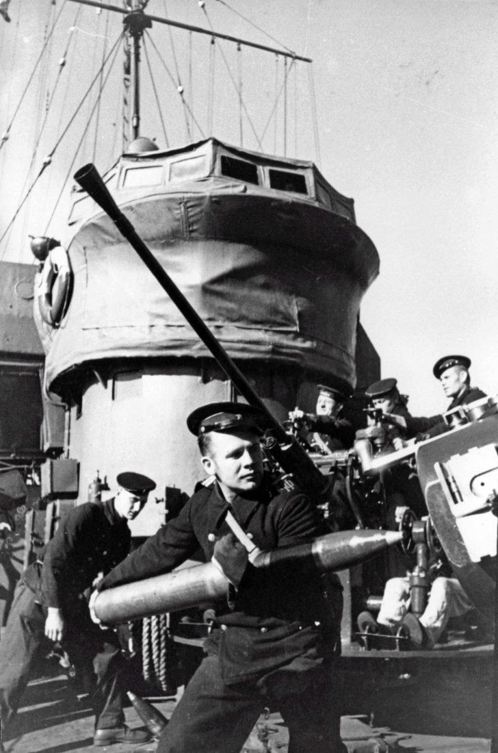 patrol ship Shkval