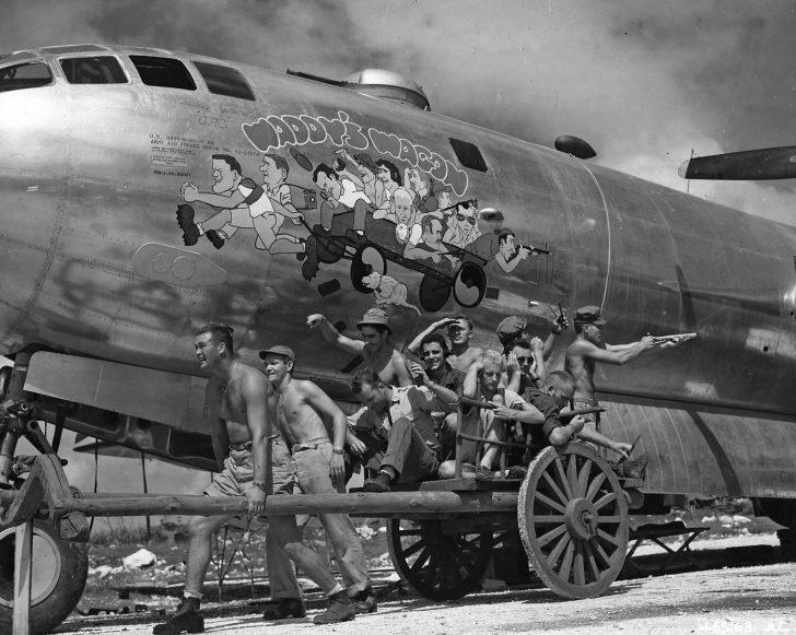 The B-29 bomber