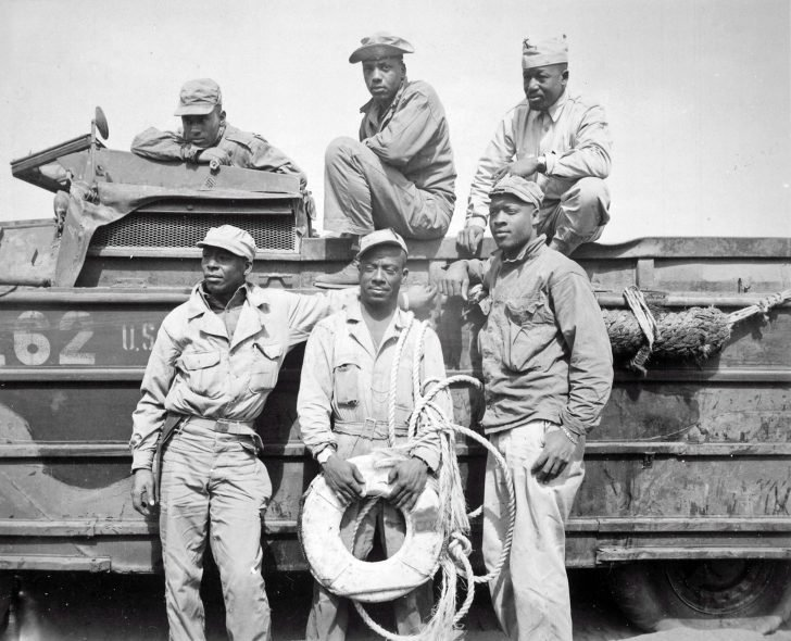 black soldiers of the US Army