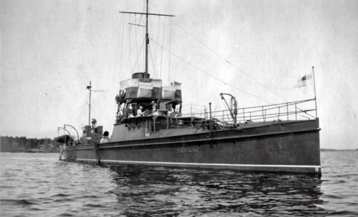 gunboat Matti Kurki