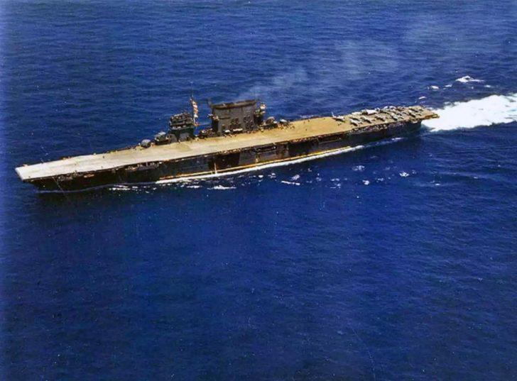 aircraft carrier Saratoga