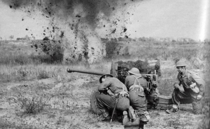 57mm cannon QF 6-pounder