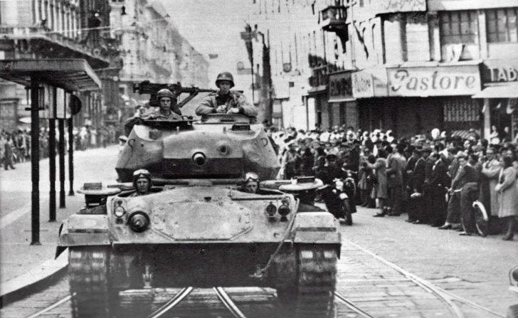 light tank M24 Chaffi