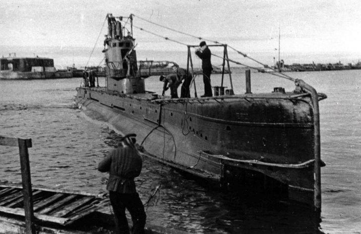 submarine Shch-303