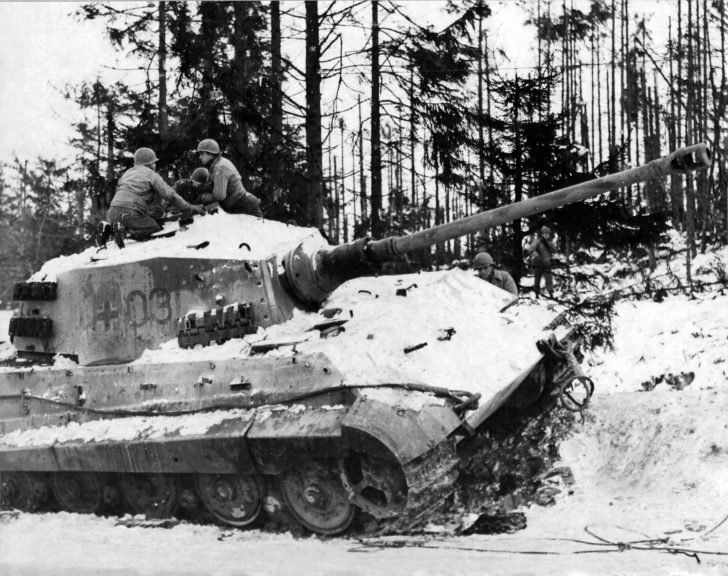 American soldiers, Tiger II