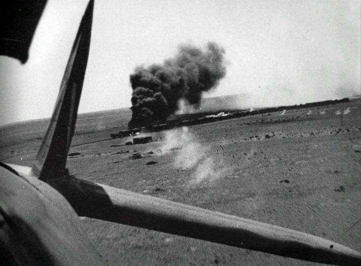 attack aircraft Beaufighter