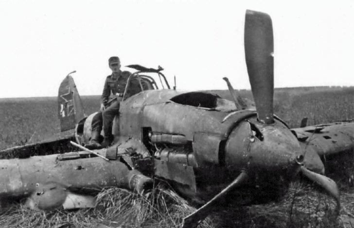 A German soldier, IL-2
