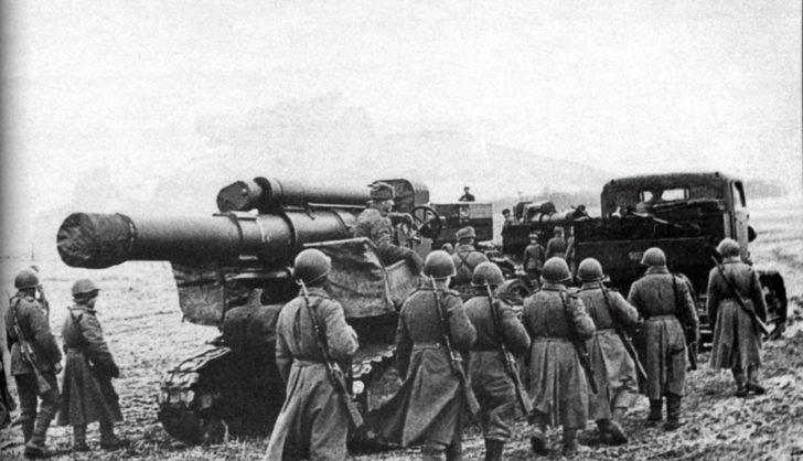 280mm Br-5 mortar
