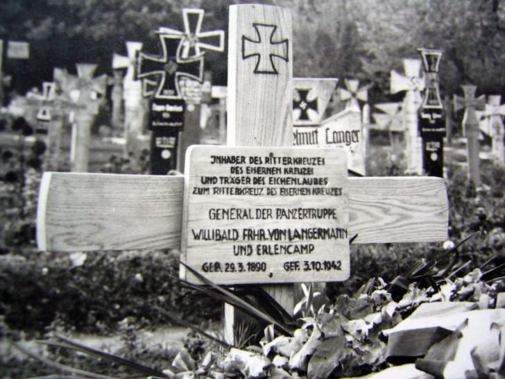 Grave of the General Willibald von Langermann