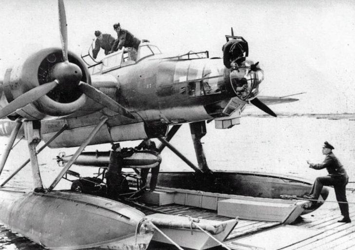 seaplane He-115