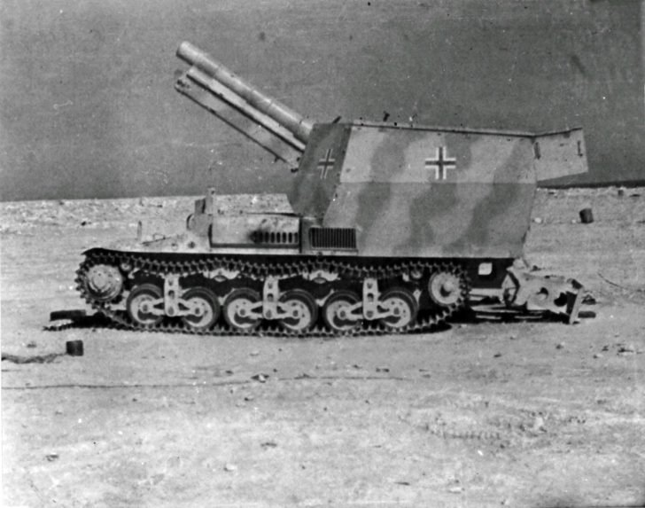 Sd.Kfz. 135/1 self-propelled gun