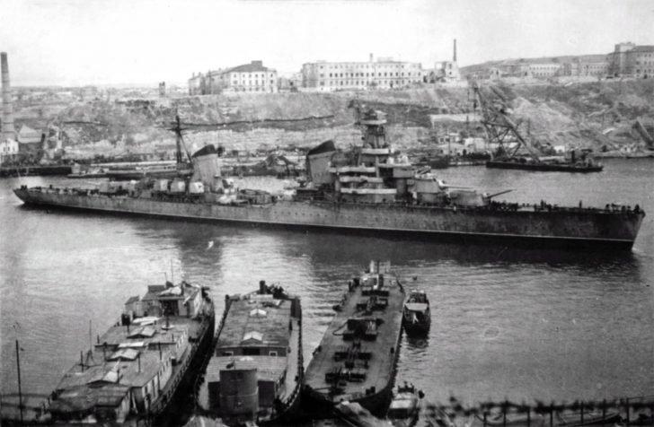 cruiser Voroshilov