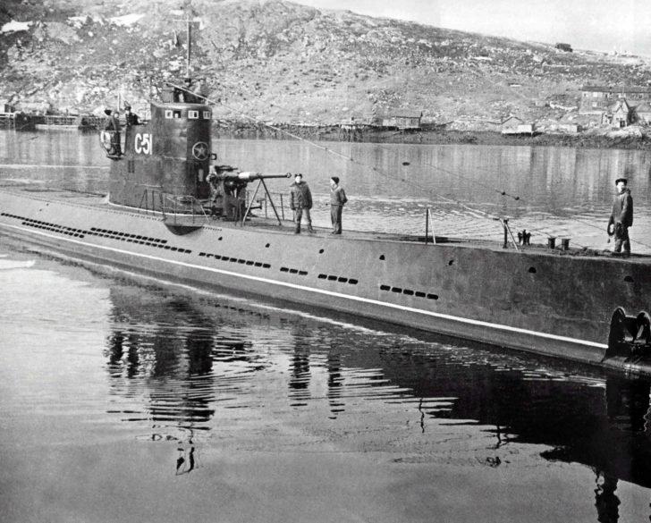 submarine S-51