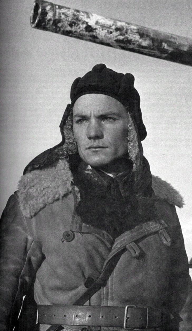 Sergeant Ivan Lyubushkin